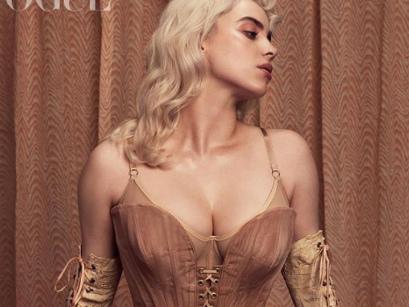 """Billie Eilish bricht mit """"Vogue""""-Shooting in Dessous alle Rekorde"""