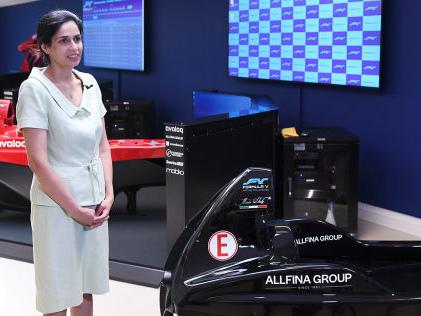 "Racing Unleashed-CEO Monisha Kaltenborn Simracing: ""Erlebnis mit steuerbarem Risiko"""