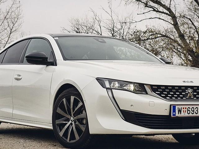 Viertürcoupé im Test - Peugeot 508: Schönheit braucht keine Rahmen