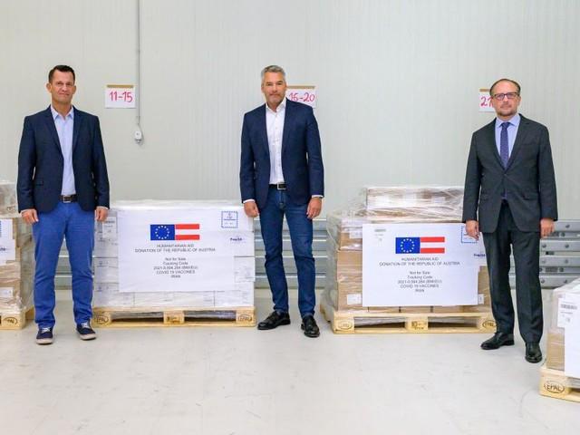 Österreich spendet eine Million Dosen AstraZeneca an den Iran