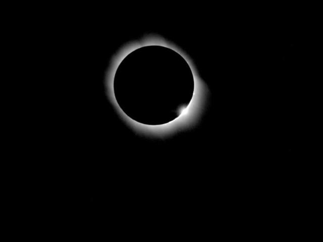 Vor Amerikanischer Sonnenfinsternis: Menetekel am Himmel -Von kopflosen Astronomen und weinenden Azteken