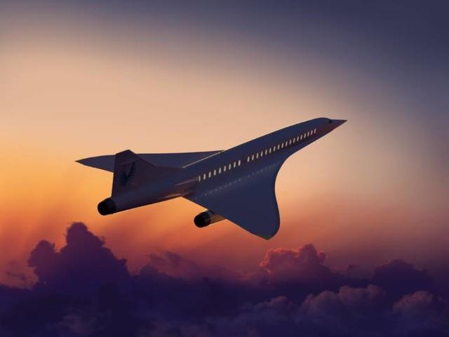 Schon 30 der Super-Jets sind vorbestellt!: Überschallflugzeug soll in 3,5 Stunden von London nach New York fliegen