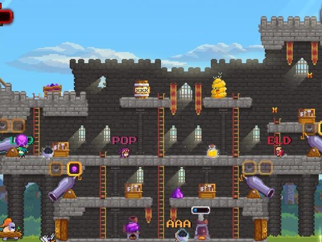 No Heroes Here: Pixelige Burgverteidigung erscheint 2018 für PS4 und Switch