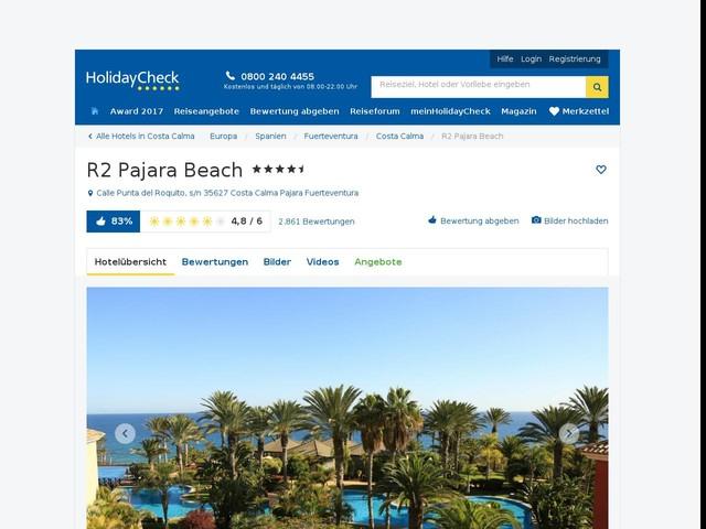 Hotel R Pajara Beach Punta Del Ropuito