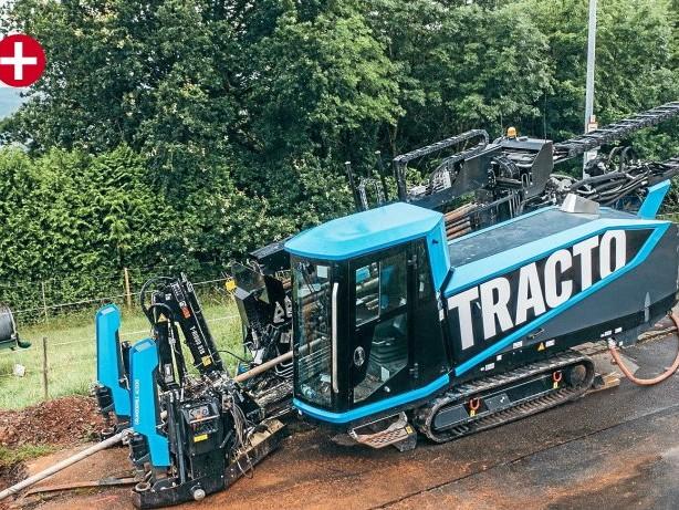 Wirtschaft : Lennestadt: Tracto Technik blickt auf Rekordjahr zurück