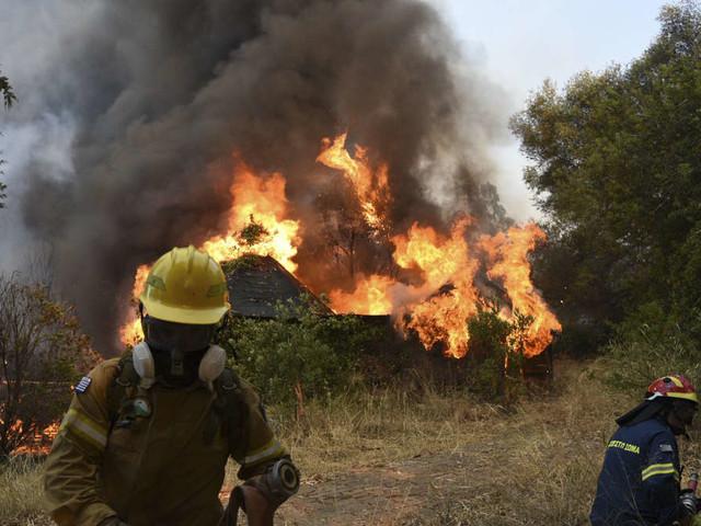 Hitzewelle mit bis zu 47 Grad, Waldbrände wüten am Mittelmeer: Italien schlägt Alarm