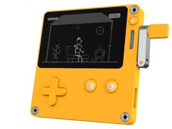 Playdate: Neues Handheld angekündigt - mit Kurbelsteuerung