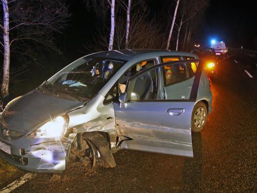 St. Egidien: Autofahrerin bei Unfall schwer verletzt
