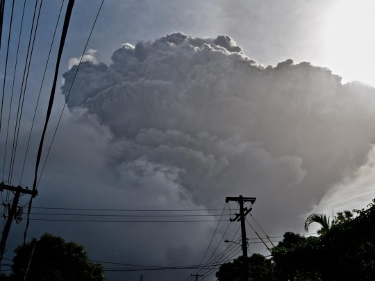 St. Vincent - Heftiger Ascheregen nach Vulkanausbruch auf Karibikinsel