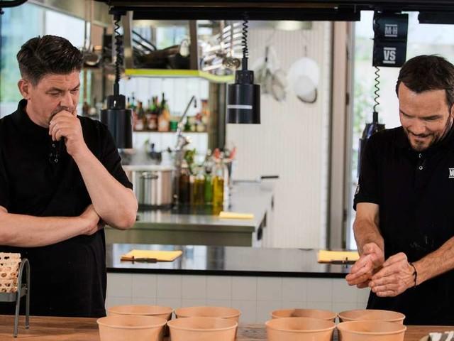 Neue Koch-Show von Mälzer und Henssler: Kommen die Rivalen miteinander klar?