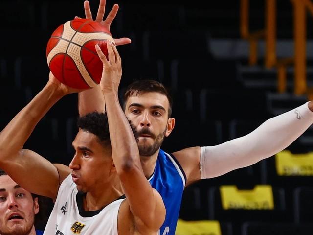 Auftakt-Niederlage für deutsche Olympia-Basketballer gegen Italien