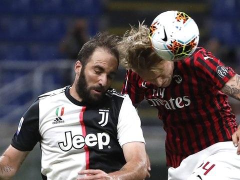 Serie A: Milan dreht Spiel gegen Juve
