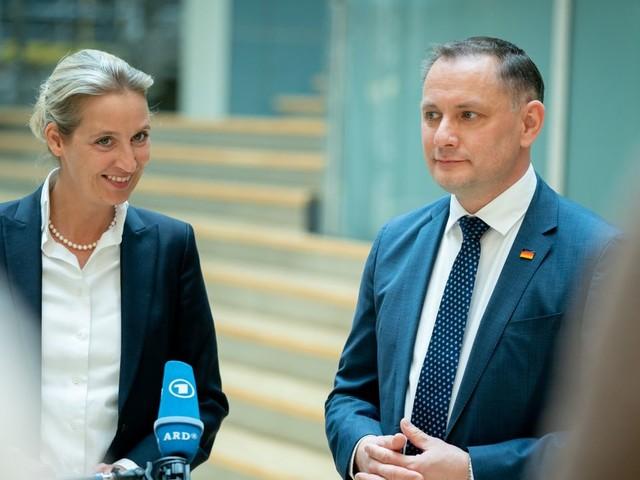AfD: Alice Weidel und Tino Chrupalla zu Spitzenkandidaten für die Bundestagswahl gewählt