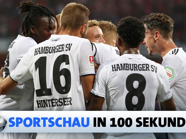 Die Sportschau in 100 Sekunden