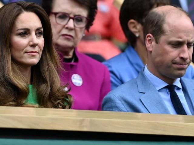Verkracht? Prinz William und Kate mit finsten Mienen in Wimbledon