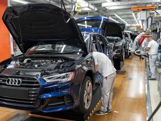 Kurzarbeit angemeldet bei Audi: Deutscher Autobauer stoppt Produktion