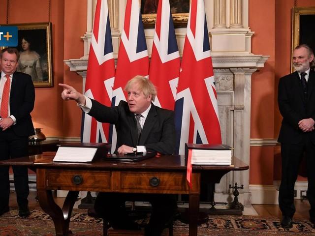 Boris Johnson droht der EU – um seinen Fehler als Sieg zu verkaufen