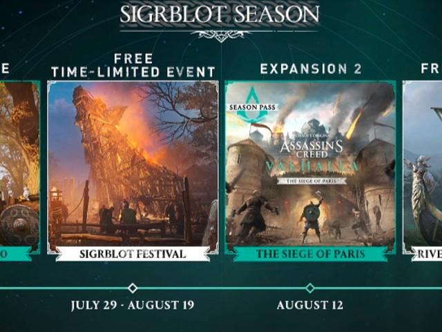 Assassin's Creed Valhalla: Season-3-Update mit Sigrblot-Fest und Level-Scaling-Optionen steht an