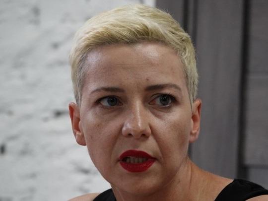 Belarus - Anklage gegen Oppositionelle Kolesnikowa
