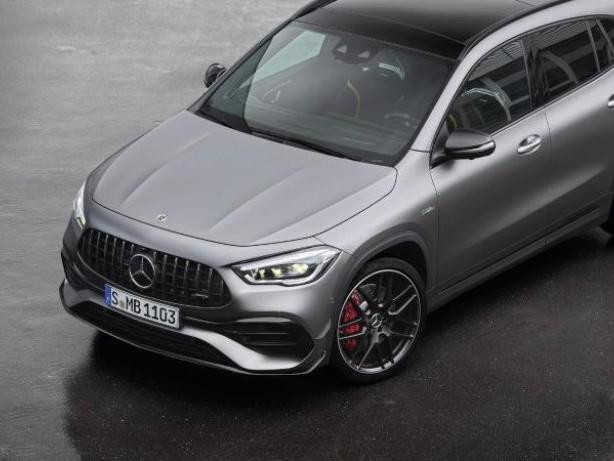 Kompakter SUV-Sportler: Mercedes GLA kommt als AMG-Modell