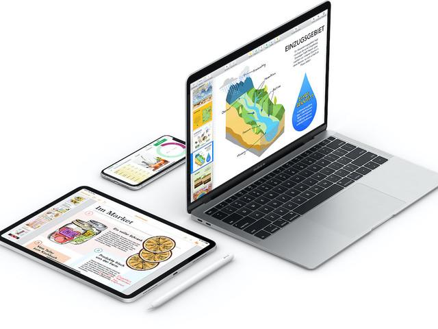 Apple aktualisiert Pages, Numbers und Keynote mit neuen Funktionen für iOS 15 und macOS Monterey