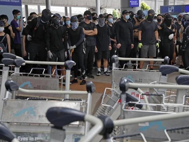 Boykott an Schulen und Unis: China verurteilt Gewalt in Hongkong - 63 Festnahmen