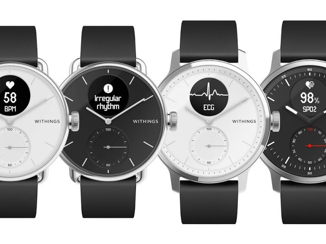 Die Withings ScanWatch kommt | Die weltweit erste klinisch validierte Hybrid-Smartwatch mit Elektrokardiogramm und Schlafapnoe-Erkennung