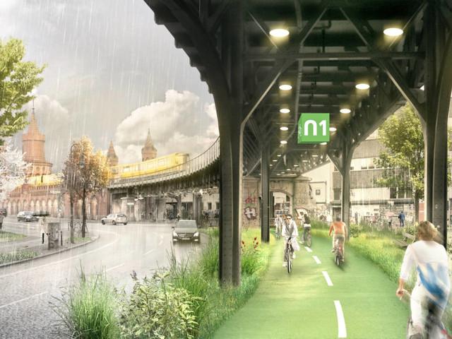 Erste Teilstrecke durch Berlin kommt!: Das wird die erste Radbahn der Hauptstadt