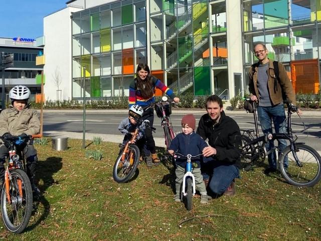 Radeln mit Kindern: Wie sicher sind die Wege in St. Pölten?