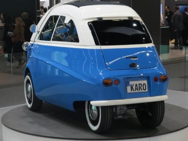 Gruß aus den Fünfzigern: E-Auto Artega Karo im Stil der Isetta