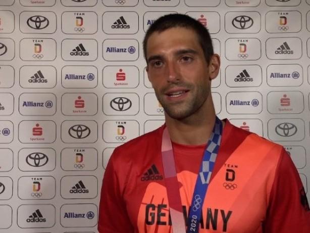 """Mit Muskelkrämpfen zu Bronze: Aigner zunächst """"sehr enttäuscht"""""""