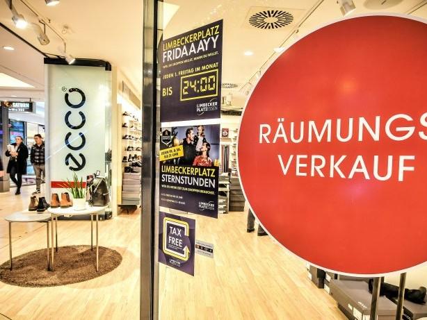 Einkaufszentrum: Schuhhändler – Sieben Filialen schließen am Limbecker Platz