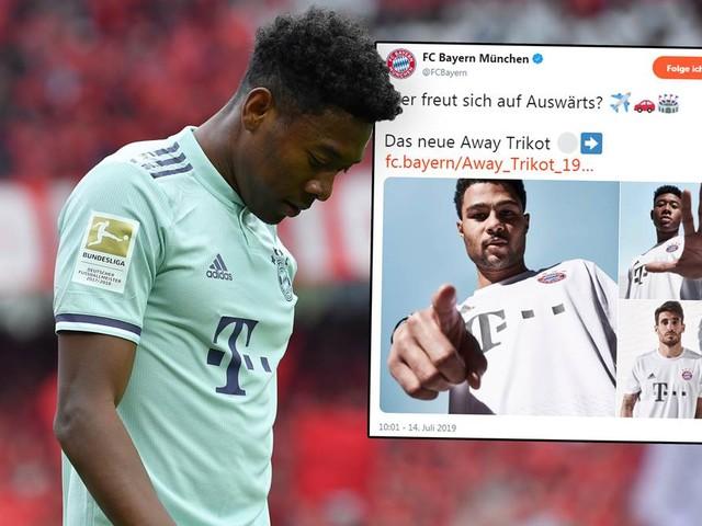 Neues Bayern Trikot: