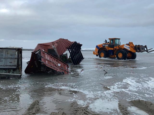 Container-Havarie in der Nordsee: Staatsanwaltschaft ermittelt, Reederei soll zahlen