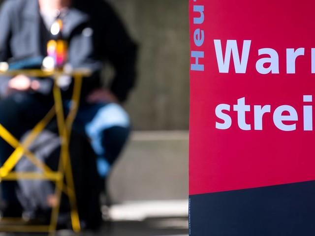 Neue Warnstreiks: Im öffentlichen Dienst wird ab Dienstag gestreikt