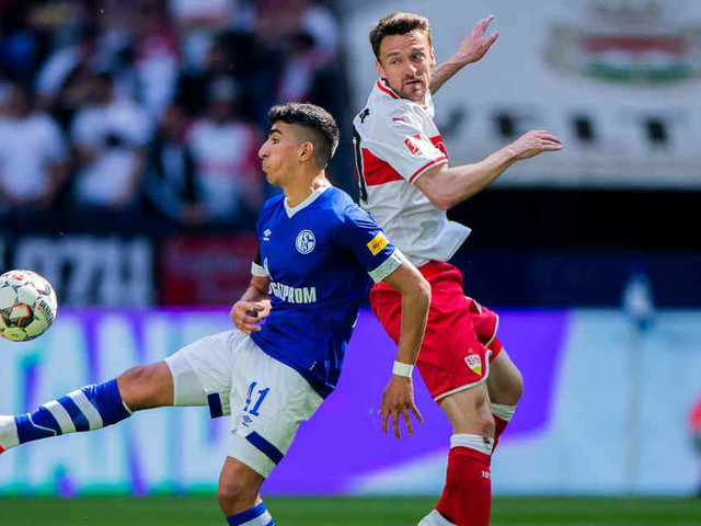 0:0 gegen Stuttgart: Schalke verpasst versöhnlichen Stevens-Abschied