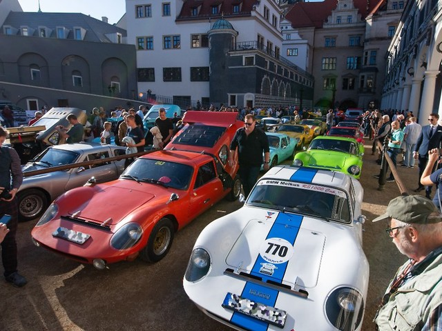 DDR-Kultauto schon 50 Jahre alt: Fans huldigen dem Melkus RS1000