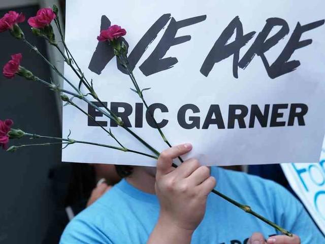 """Farbiger starb nach Würgegriff: New York feuert fünf Jahre nach Fall """"Eric Garner"""" Polizist"""