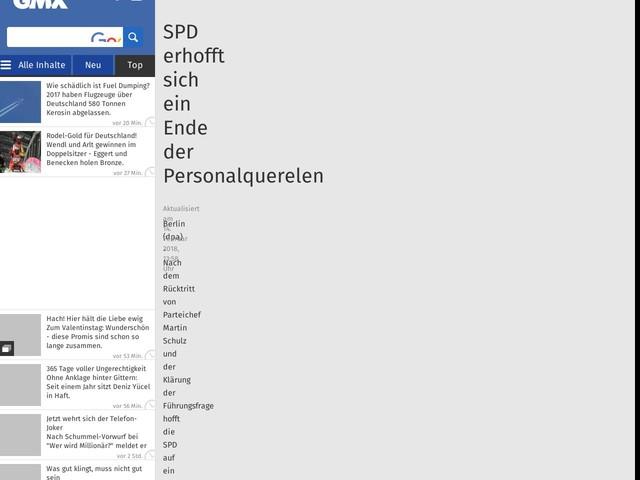 SPD erhofft sich ein Ende der Personalquerelen