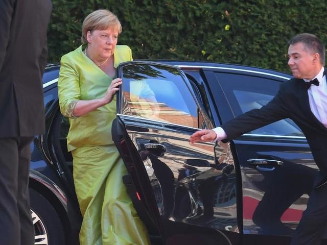Bayreuther Festspiele gestartet: Abschiedsbesuch von Merkel