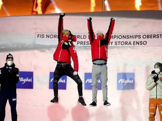 Luftsprünge in Rot-Weiß-Rot: Die Tops und Flops der Nordischen WM