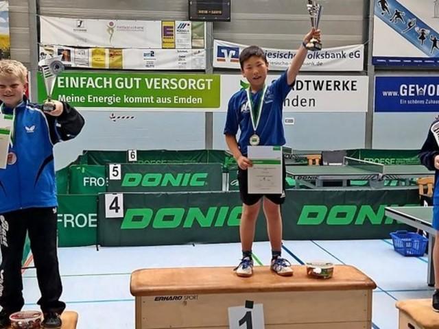 Terry Choi vom ASC 46 Göttingen erkämpft bei Landesrangliste Gold