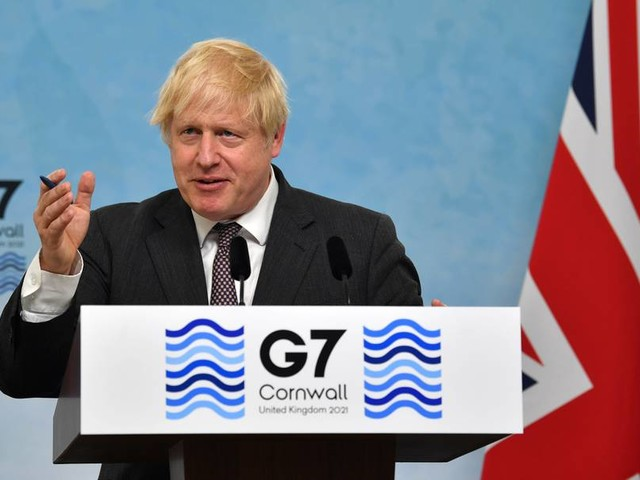 "Johnson nach G7-Gipfel: ""Fantastisches Niveau an Harmonie"""