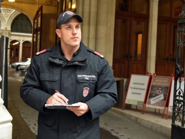 Wiener Rathauswache: Die geheime Feuerwehr