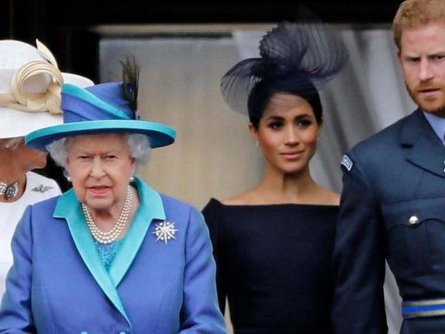 """Queen Elizabeth """"hat Verständnis"""", dass Meghan in den USA geblieben ist"""
