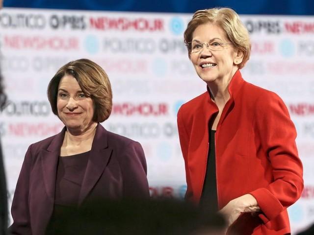 US-Wahl: New York Times für Warren und Klobuchar als US-Präsidentschaftskandidatinnen