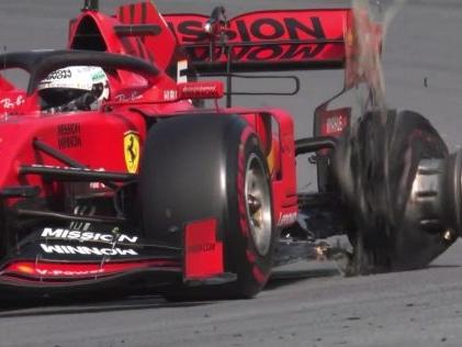"""Formel 1: Vettel und Leclerc kollidieren Binotto: """"Beide Fahrer sind verantwortlich"""""""