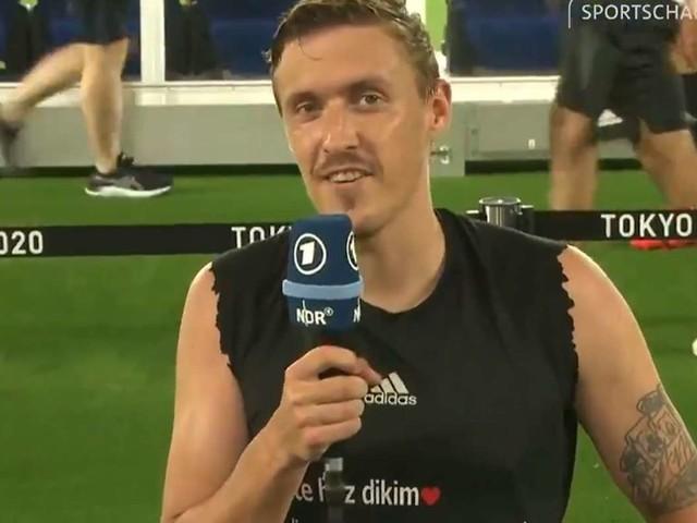 DFB-Spieler bei Olympia: Max Kruse macht Heiratsantrag im Sportschau-Interview