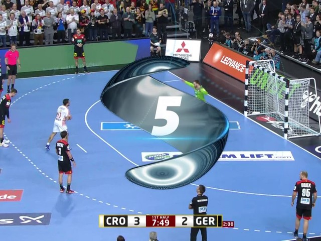 Deutschland gegen Kroatien - Die fünf besten Szenen