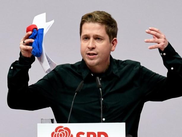 SPD-Parteitag: SPD-Newsblog: Kevin Kühnert zum Stellvertreter gewählt
